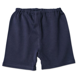 Zutano baby Bottom Cotton Baby Short - Navy