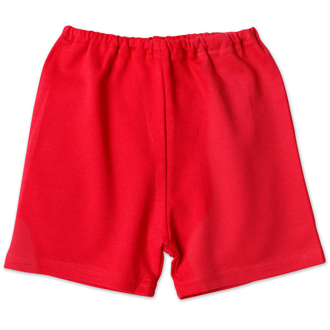 Zutano baby Bottom Cotton Baby Short - Red