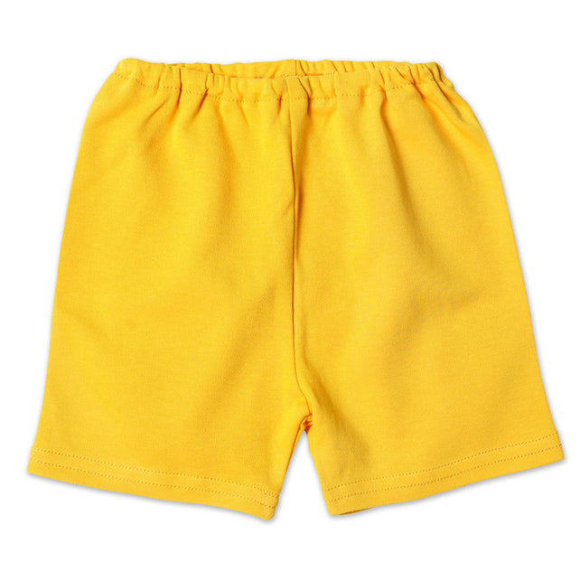 Zutano baby Bottom Cotton Baby Short - Yellow