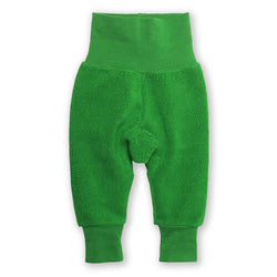 Zutano baby Bottom Cozie Fleece Cuff Pant - Apple