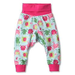 Zutano baby Bottom Frog Princess Cuff Pant