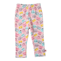 Zutano baby Bottom Happy Cat Skinny Leggings