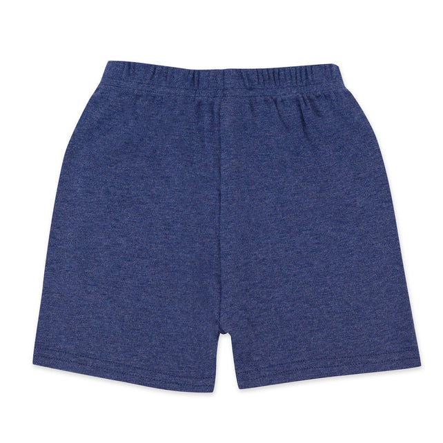 Zutano baby Bottom Organic Cotton Short - True Navy Heather