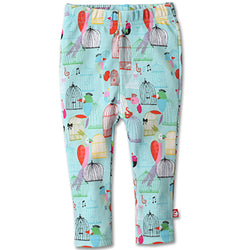 Zutano baby Bottom Paradise Bird Skinny Legging