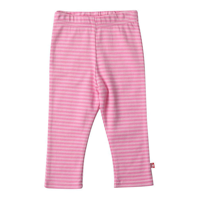 Zutano baby Bottom Pink Stripe Skinny Leggings