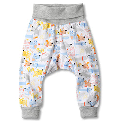 Zutano baby Bottom Puppies Cuff Pant