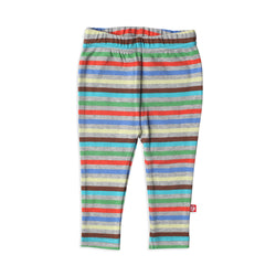 Zutano baby Bottom Stellar Stripe Skinny Legging