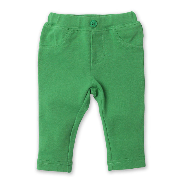 Zutano baby Bottom Stretch Knit Legging - Apple