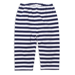 Zutano baby Bottom Stripe Baby Pant - Navy