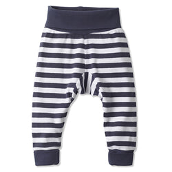 Zutano baby Bottom Stripe Cuff Pant - Navy