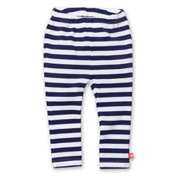Zutano baby Bottom Stripe Skinny Legging - Navy