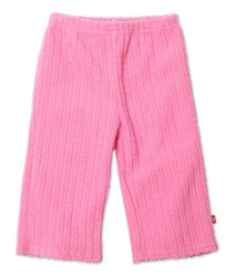 Zutano baby Bottom Waffle Cozie Pants - Hot Pink