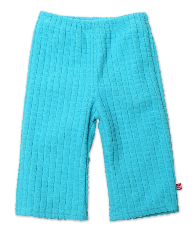 Zutano baby Bottom Waffle Cozie Pants - Pool