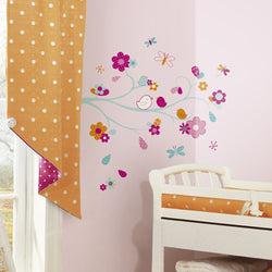 Zutano baby Decor RoomMates Peel and Stick Giant Wall Decals - Friendly Bird