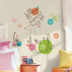 Zutano baby Decor RoomMates Peel and Stick Giant Wall Decals - Pixie Deer
