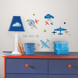 Zutano baby Decor RoomMates Peel and Stick Wall Decals - Aviation