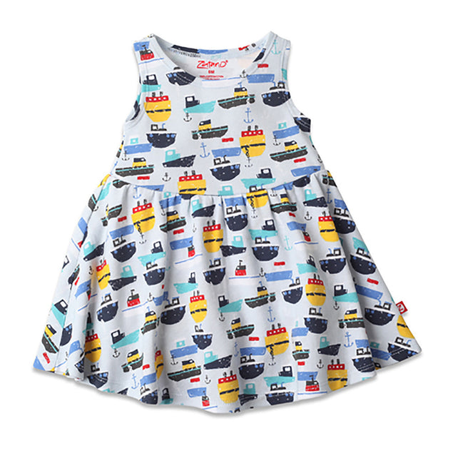 Zutano baby Dress Ahoy Tank Dress
