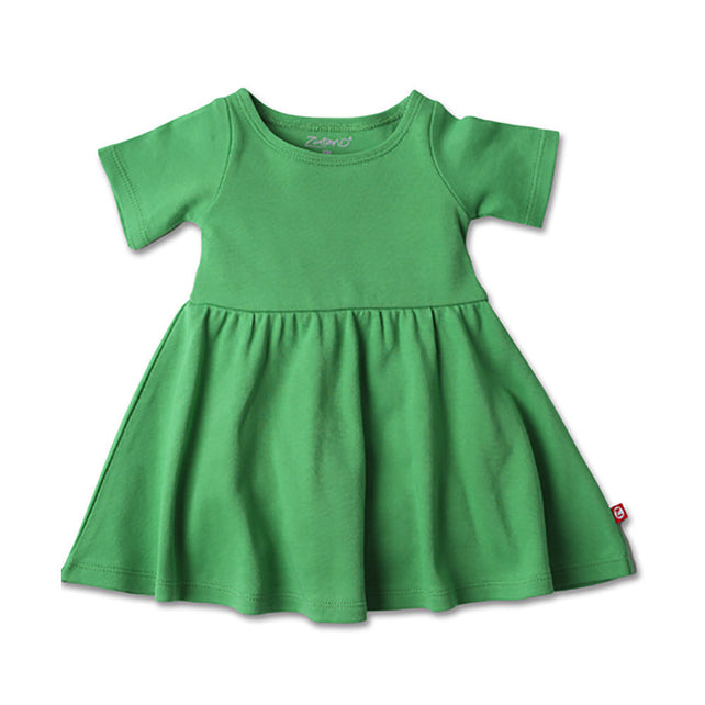 Zutano baby Dress Baby Forever Dress - Apple