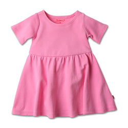 Zutano baby Dress Baby Forever Dress - Hot Pink