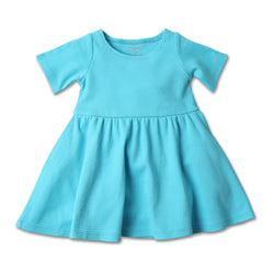 Zutano baby Dress Baby Forever Dress - Pool