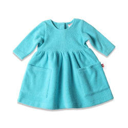 Zutano baby Dress Cozie Dress - Pool