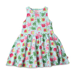 Zutano baby Dress Frog Princess Toddler Tank Dress