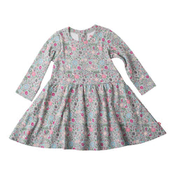 Zutano baby Dress In The Woods L/S Forever Dress
