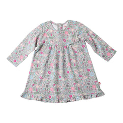 Zutano baby Dress In The Woods Ruffle Little Dress