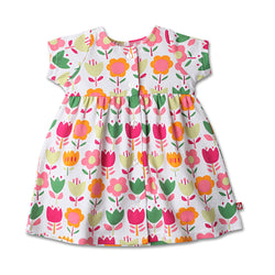 Zutano baby Dress Linnaea Button Dress