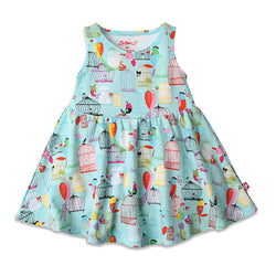 Zutano baby Dress Paradise Bird Tank Dress