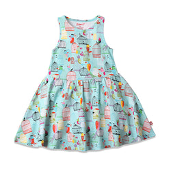 Zutano baby Dress Paradise Bird Toddler Tank Dress