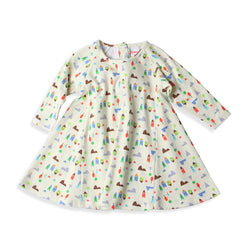 Zutano baby Dress St. Moritz Raglan Trapeze Dress