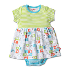 Zutano baby Dress Teepee Baby Romper Dress