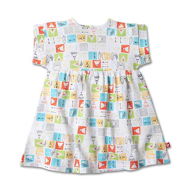 Zutano baby Dress Teepee Garden Dress