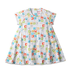 Zutano baby Dress Teepee Toddler S/S Trapeze Dress