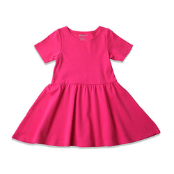 Zutano baby Dress Toddler Forever Dress - Fuchsia