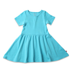 Zutano baby Dress Toddler Forever Dress - Pool
