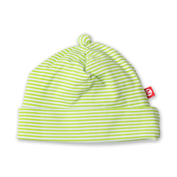 Zutano baby Hat Candy Stripe Baby Beanie - Lime