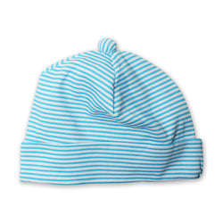 Zutano baby Hat Candy Stripe Baby Beanie - Pool