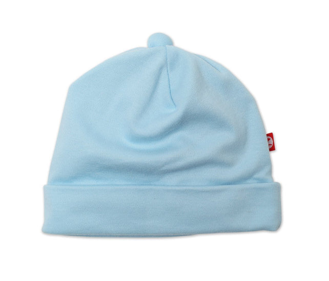 Zutano baby Hat Cotton Baby Beanie - Blue