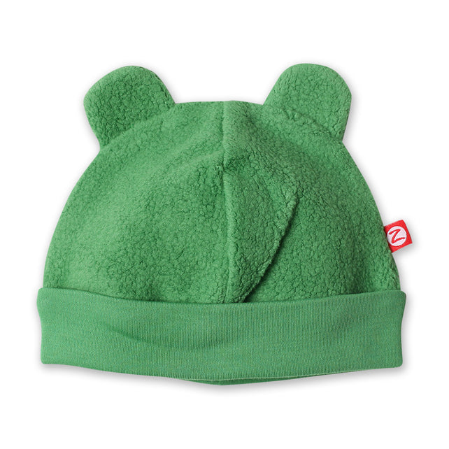 Zutano baby Hat Cozie Fleece Hat - Apple