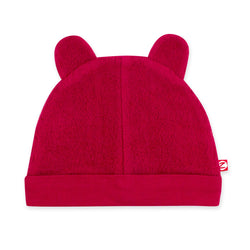 Zutano baby Hat Cozie Fleece Hat - Cranberry