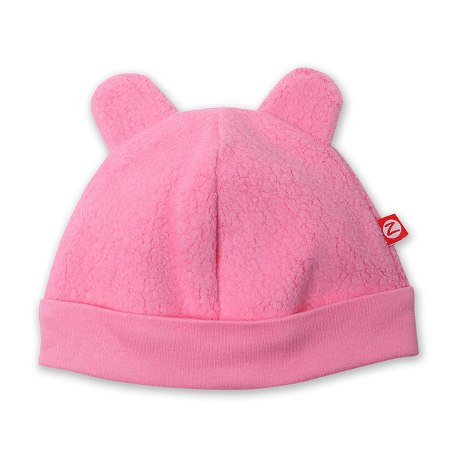 Zutano baby Hat Cozie Fleece Hat - Hot Pink