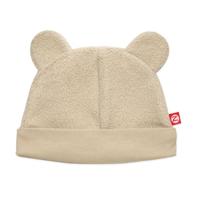 Zutano baby Hat Cozie Fleece Hat - Khaki