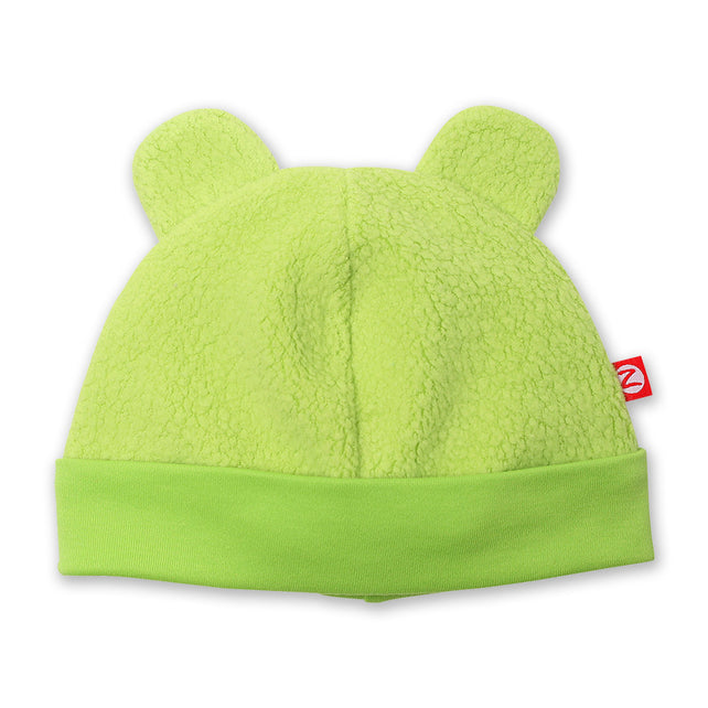 Zutano baby Hat Cozie Fleece Hat - Lime