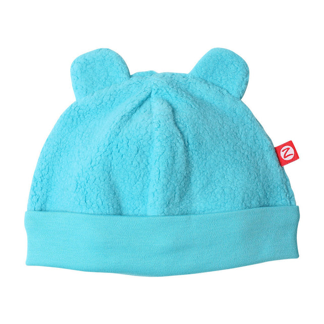 Zutano baby Hat Cozie Fleece Hat - Pool