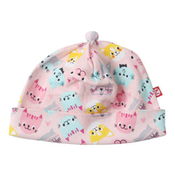 Zutano baby Hat Happy Cat Baby Beanie