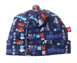 Zutano baby Hat Little Engine Baby Beanie
