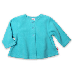 Zutano baby Jacket/Hoodie Cozie Swing Jacket - Pool