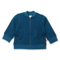 Zutano baby Jacket/Hoodie Terry Zipper Jacket - Pagoda